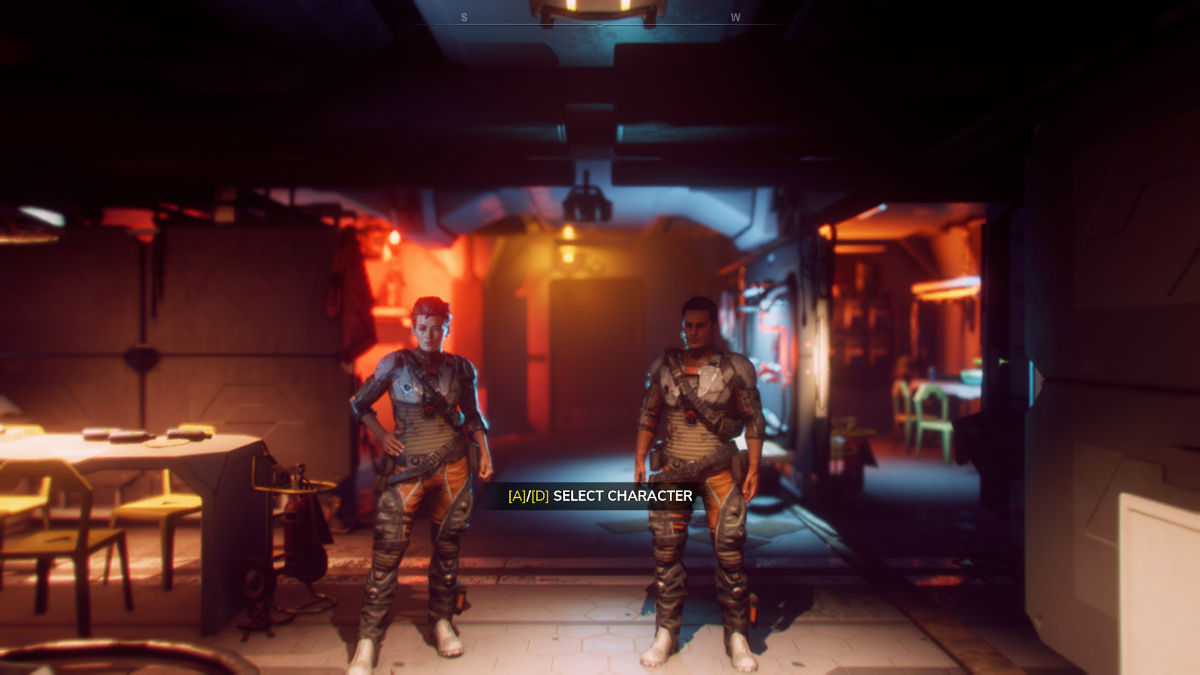 Charakterauswahl in Rage 2